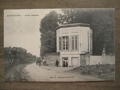 Rare cpa Brugelette (Ath Mons) - Grotte blanche - Attelage - Gyselinx - 1913