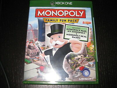 MONOPOLY: FAMILY FUN PACK - Xbox One Game - Region Free