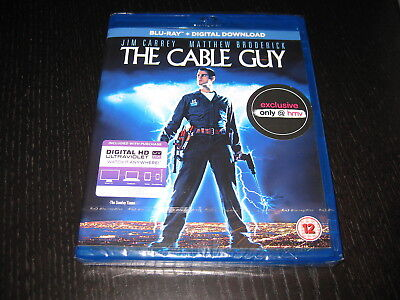 THE CABLE GUY (1996) - Jim Carrey - Blu Ray - NEW & SEALED