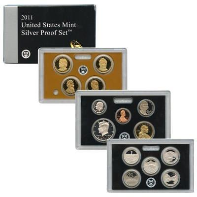 2011 S US Mint Silver Proof 14 Coin Set