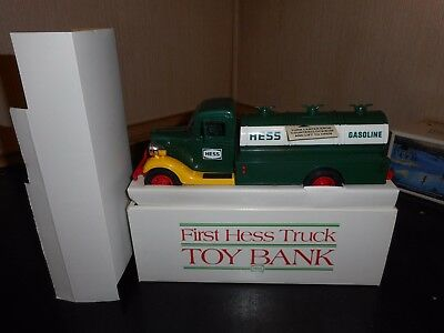 1985 Hess Truck Bank In Mint Condition W/slight Box Issue