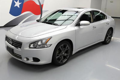 2014 Nissan Maxima  2014 NISSAN MAXIMA 3.5 SV SPORT TECH SUNROOF NAV 23K MI #477745 Texas Direct