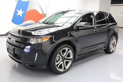 2013 Ford Edge Sport Sport Utility 4-Door 2013 FORD EDGE SPORT LEATHER PANO SUNROOF NAV 22'S 62K #A97586 Texas Direct Auto