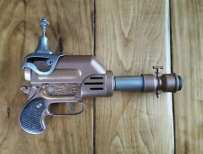 "Custom Steampunk Cosplay Prop Toy Movie Space Gun Blaster Costume 10"" Long"