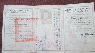 Certificate of Nationality for the Republic of China, 1946