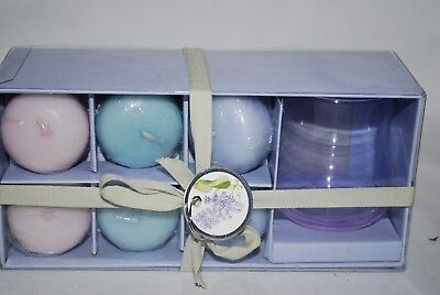 Marjolein Bastin at Home Floating 6 Candle Collection with Holder (NEW)