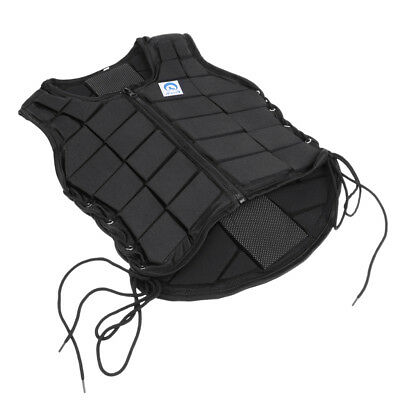 Breathable Equestrian Vest Horse Riding Back Body Protector for Kids Size S