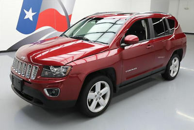 2014 Jeep Compass  2014 JEEP COMPASS HIGH ALTITUDE SUNROOF HTD LEATHER 51K #752479 Texas Direct