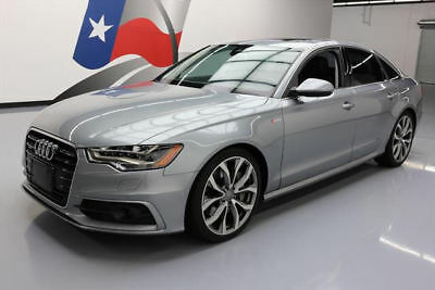 2012 Audi A6  2012 AUDI A6 3.0T PRESTIGE AWD SUNROOF NAV HUD 20'S 66K #148010 Texas Direct