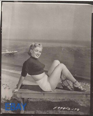 Marilyn Monroe busty leggy sexy Photo From ORIGINAL NEG