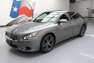 2014 Nissan Maxima  2014 NISSAN MAXIMA 3.5 SV SPORT TECH SUNROOF NAV 19K MI #477942 Texas Direct