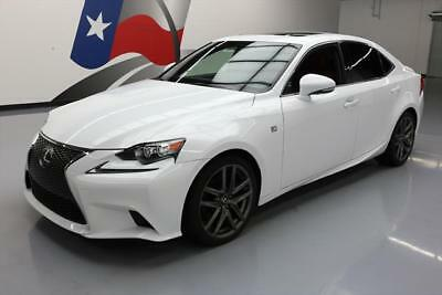 2015 Lexus IS  2015 LEXUS IS250 F SPORT CLIMATE LEATHER SUNROOF 35K MI #064871 Texas Direct