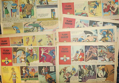 FLASH GORDON by Austin Briggs - 17 Sunday pages from 1946