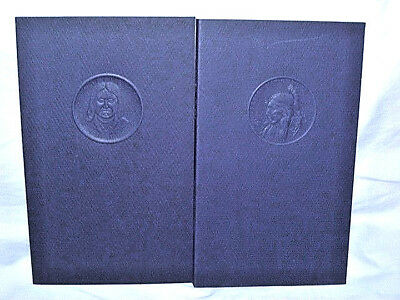 2 Indian Tribal Books, Signed & Numbered ( Modoc & Quapaw ).