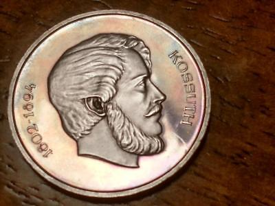 Hungary 1967 Silver Proof 5 Forint - Only 5,000 Minted  - Free  Shipping