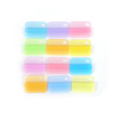 6Pcs Writing Photo Paper Clips Office Accessories School Supplies Stationery WB