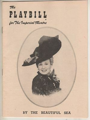 "Shirley Booth   ""By The Beautiful Sea""   Playbill    1954    Broadway"