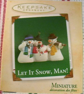 Hallmark 2004 - Miniature - Let It Snow, Man!