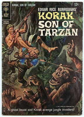 Korak Son of Tarzan 10 Sep 1965 VG (4.0)