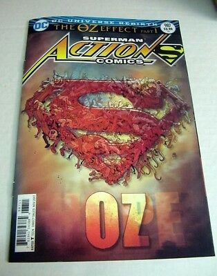 Action Comics #987 Oz Effect 3D Lenticular Variant  $3 Flat Rate Shipping N/mint