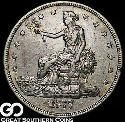 1877-S Trade Dollar, Always Sought After Silver Dollar Series!