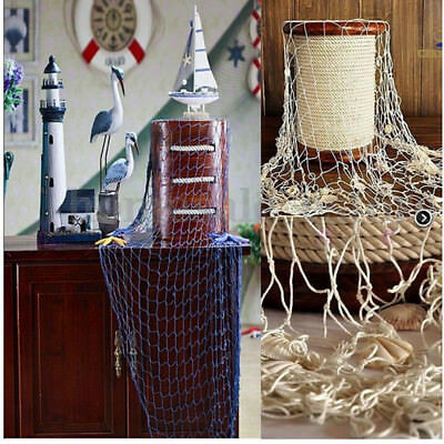 Nautical Seaside Beach Sea Ocean Fish Net Home Wall Party Hanging Decoration