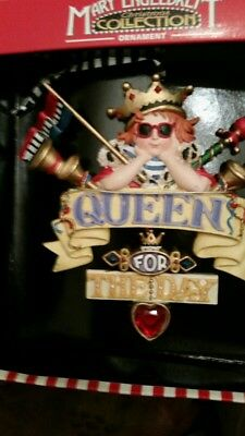 Mary Engelbreit, Queen For The Day, Christmas Ornament from the Kurt Adler Co.