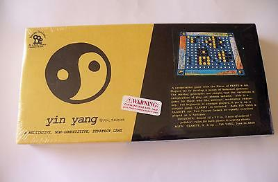 Yin Yang / Clarity Vintage Game - 1976 - New & Sealed - Rare - Family Pastimes