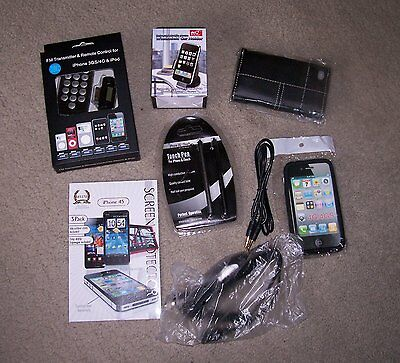 APPLE iPOD iPHONE 4/4S  ACCESSORY PACKAGE  ~ NEW