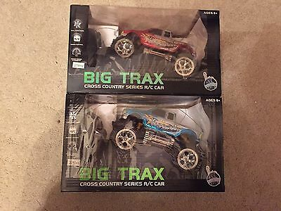 New York Gift Co 1:28 Scale Big Trax Remote Control Cross Country Car/ Christmas