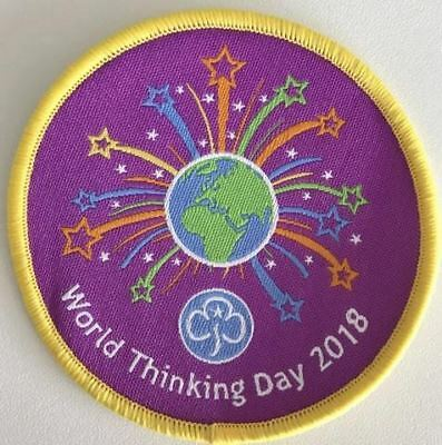 World Thinking Day 2018 Badge Guides Girl Official