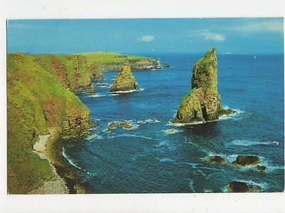 Stacks Of Duncansby John O Groats Old Postcard  247a