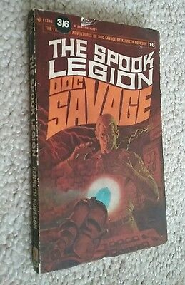 DOC SAVAGE Bantam USA paperback book THE SPOOK LEGION (16) - Only £4.99 POSTFREE