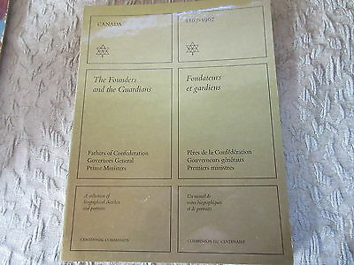 Old 1967 Canada Founders & Guardians Biographical Sketches Book