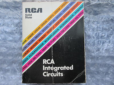 Old 1976 RCA Solid State Integrated Circuits Catalog Linear Digital Memory