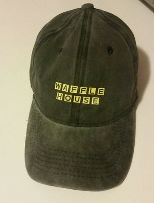 Waffle House Charcoal Gray Hat Cap Men's One Size Fits Most NEW FREE SHIPPING