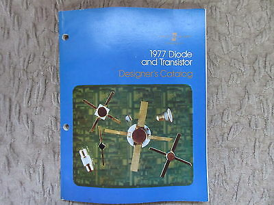 Old 1977 Diode and Transistor Designers Catalog Hewlett Packard Computing