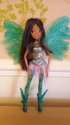 *Winx Club Layla/Aisha SIRENIX Deluxe Doll water color change*Jakks Pacific*VHTF