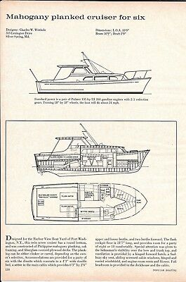 1963 Charles W Wittholz 33' Cruiser Yacht Review & Specs
