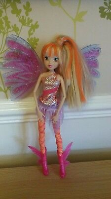 *Winx Club Stella SIRENIX Deluxe Doll water color change*Jakks Pacific*VHTF