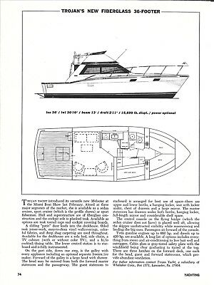 1971 Trojan 36' Yacht Review & Specs