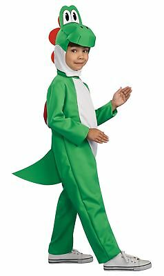 Yoshi Super Mario Green Heroes Dinosaur Video Game Deluxe Boys Costume