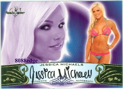 2010 Benchwarmer Signature Series Auto: Jessica Michaels #31A Autograph