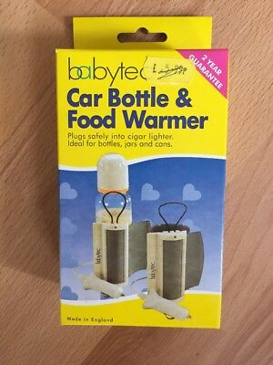Babytec Car Bottle & Food Warmer Brand New