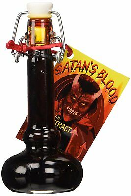 """SATAN'S BLOOD"" - Hot Chilli Sauce Extract 800,000 Scoville Units"