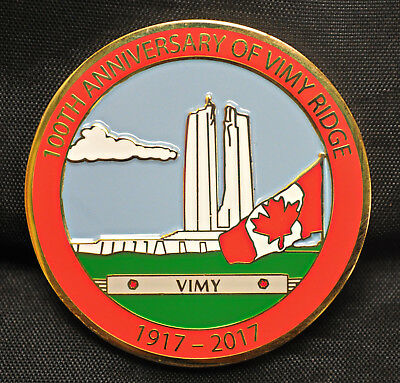 100th Anniversary of Vimy Ridge - APNA Medal