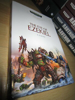 C. Z. Dunn THE EYE OF EZEKIEL 1st/PB MINT Warhammer 40K Space Marine Battles