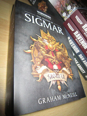Graham McNeill THE LEGEND OF SIGMAR 1st/Pb MINT Warhammer Chronicles Omnibus