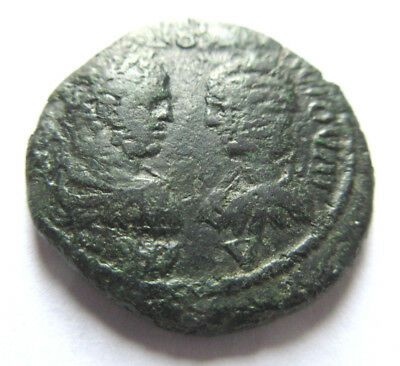 Ae-26 of Caracalla from Marcianopolis mint   Rv. Demeter left