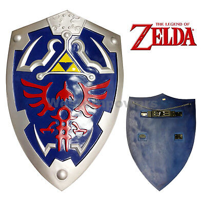 "New Legend of Zelda Link's Hylian Shield Cosplay  Video game 27"" x 19"""